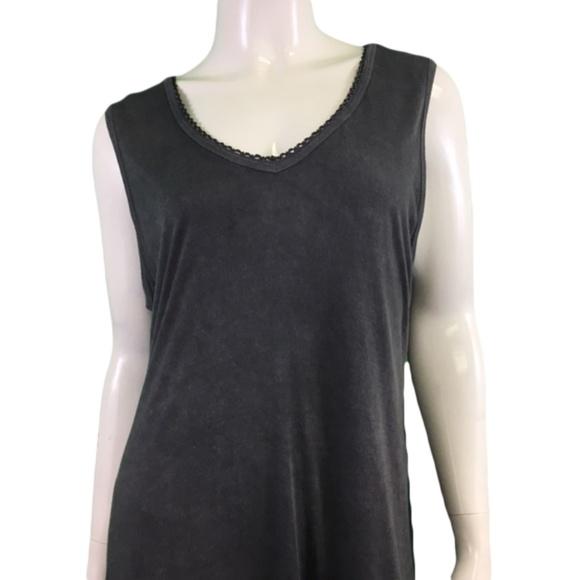 NWT Nostalgia Gray Fringe Dress